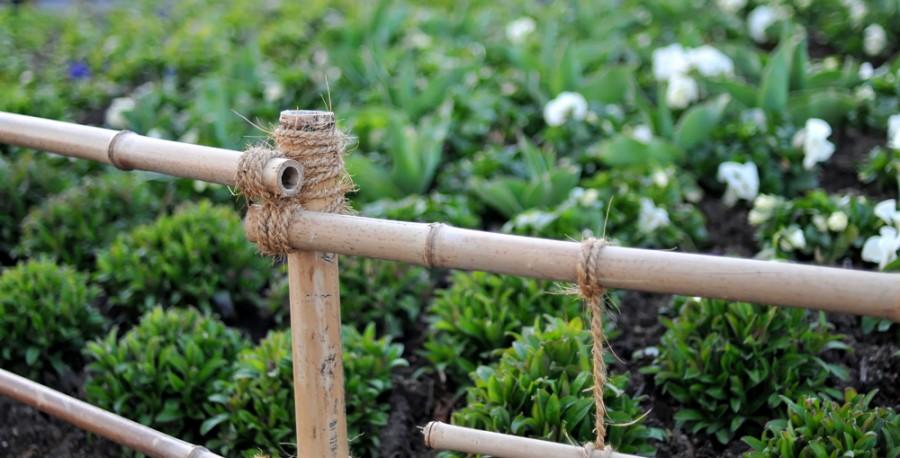 11.bambusové zábradlí detail