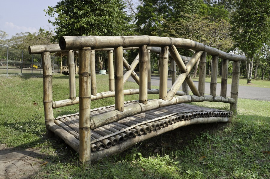 6.lávka z bambusu