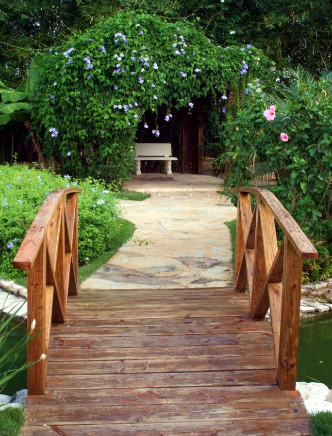 17. dřevěný most