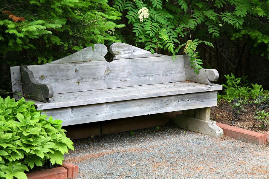 Zahradní prvky - lavičky